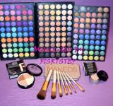 Trusa machiaj MAC 180 culori 7 pensule makeup Naked baza machiaj cadou dragobete, Urban Decay