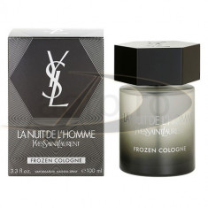 Yves Saint Laurent la Nuit L`homme Forzen Cologne, 100 ml, Apă de parfum, pentru Barbati - Parfum barbati