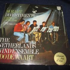 Mozart / Edo de Waart - Divertimenti (K.186, K.253, K.289) _ vinyl, LP, Olanda - Muzica Clasica Altele, VINIL