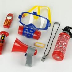 Set 7 Accesorii Pompier - Vehicul Klein