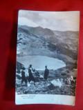 Ilustrata Masivul Retezat - Lacul Zanoaga anii '60