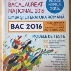 Examenul de bacalaureat - lb. si lit. romana - Teste Bacalaureat Altele