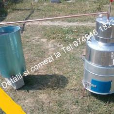 Cazan pt tuica.din Inox.De 60 de lt+Focar+Serpentina+Vas pt apa - Cazan tuica