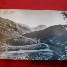 Ilustrata  Muntii Apuseni - Valea Ariesului  circulat 1963