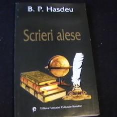 SCRIERI ALESE--B.P. HASDEU- - Studiu literar