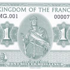 Bancnota Regatul francilor 1 Silver Shiling - SPECIMEN ( hartie cu filigran ) - bancnota europa, An: 2016