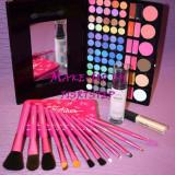 Trusa Baza machiaj MAC 78 culori 12 pensule makeup cadou ziua indragostitilor
