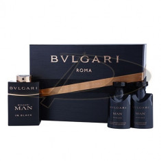 Set Bvlgari Man In Black, Apă de parfum, pentru Barbati - Set parfum