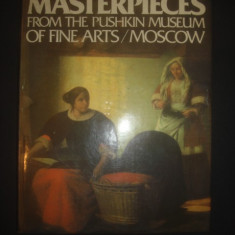 MASTERPIECES FROM THE PUSHKIN MUSEUM OF FINE ARTS / MOSCOW {format 29 x 22 cm} - Album Pictura