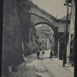 Salutari din Sibiu - Primaria -  Spre primarie - Aufstieg zum Rathaus - 1907, Circulata, Fotografie