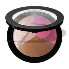 SEPHORA COLLECTION MICROSMOOTH BAKED SCULPTING CONTOUR TRIO COLOR SASSY - Fond de ten
