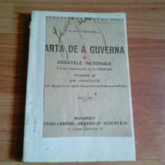 ARTA DE A GUVERNA SI ARMATELE NATIONALE-N. MACHIAVELLI - Istorie