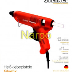 Pistol de lipit electric cu silicon Gluefix 175W 200°C 11mm Steinel
