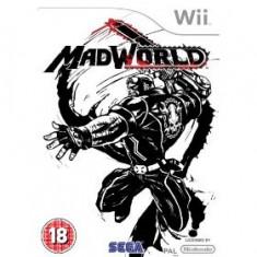 Madworld Nintendo Wii - Jocuri WII Sega, Actiune, 16+