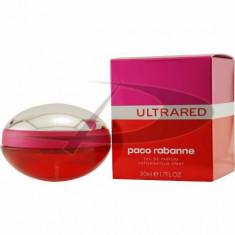 Paco Rabanne Ultrared s, 50 ml, Apă de parfum, pentru Femei - Parfum femeie