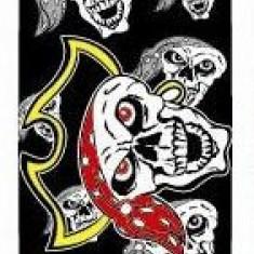 Skateboard Utop Board Skull Pirate