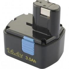 Acumulator pt Hitachi EB1412S, EB1414L, EB1414S, 14, 4V, 3, 0Ah, Ni-Mh, marca Patona,