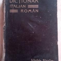 Dictionar italian-roman - E.Porn si Alecsandrescu Dorna, ed librariei Leon A Altele