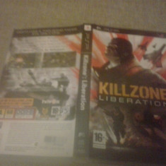 Killzone Liberation - PSP - Jocuri PSP Sony, Shooting, 16+, Single player