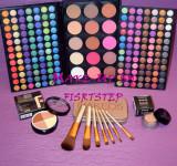 Trusa machiaj MAC 183 culori 7 pensule makeup Naked baza machiaj cadou dragobete, Urban Decay