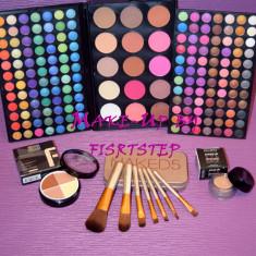 Trusa machiaj Urban Decay MAC 183 culori 7 pensule makeup Naked baza machiaj cadou dragobete