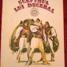 Sceptrul lui Decebal, Gligor Hasa, Ed. Ion Creanga 1986, roman - Carte Epoca de aur