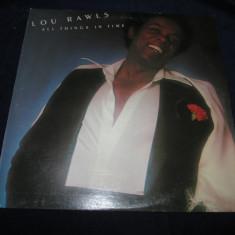 Lou Rawls - All Things In Time _ vinyl, LP, album, SUA - Muzica R&B Altele, VINIL