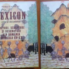 Mircea Deac , Lexicon critic si documentar , pictori si sculptori romani , 2008