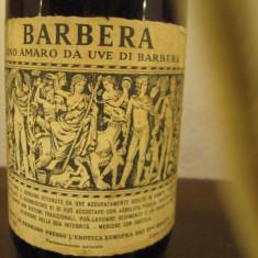 Vin BARBERA, enoteca europea dei f.lli bigatti, cl 72, gr. 12, 5 recoltare 1964 - Vinde Colectie, Aroma: Sec, Sortiment: Rosu, Zona: Europa