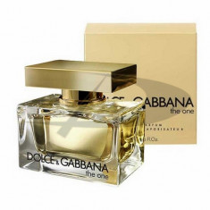 D&G The One, 75 ml, Apă de parfum, pentru Femei - Parfum femeie Dolce & Gabbana