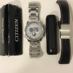CITIZEN PROMASTER SKY AS4020-44B ECO-DRIVE - SAFIR - Ceas barbatesc Citizen, Quartz