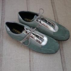Pantof sport dama piele intoarsa Geox original marimea 39 - Pret Mic - Pantof dama Geox, Culoare: Din imagine