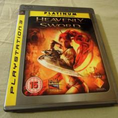 Joc Heavenly Sword, original, exclusiv PS3, alte sute de jocuri! - Jocuri PS3 Sony, Actiune, 18+, Single player