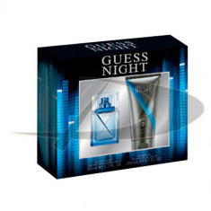 Set Guess Night - Parfum barbati Guess, Apa de toaleta, 50 ml