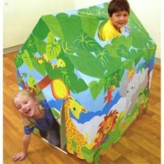Casuta de joaca pentru copii INTEX Fun 45642 - Casuta copii, 4-6 ani, Unisex, Plastic