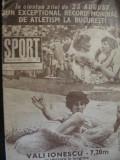 Lot 6 numere - Revista Sport 1982, nr.3,5,7,8,9,10