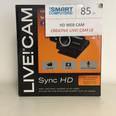 Camera Web HD Creative Live - Webcam Creative, Pana in 1.3 Mpx, CMOS, Microfon