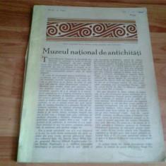 MUZEUL NATIONAL DE ANTICHITATI - Album Muzee