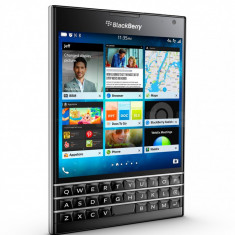 BlackBerry Passport Negru - Telefon BlackBerry, Neblocat