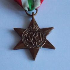 Medalie Italia -the Italy star -624, Europa