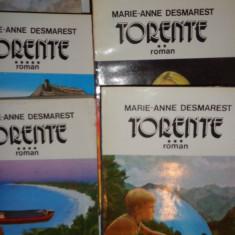 TORENTE 6 VOLUME/ 1500PAGINI= MARIE ANNE DESMAREST - Roman