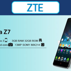 ZTE NUBIA Z7 - NX506J 3Gb RAM/AIR TOUCH/ DISPLAY 2K/ NFC/ STABILIZATOR OPTIC - Telefon mobil ZTE, Alb, 32GB, Neblocat, Dual SIM, Quad core