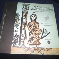 The Deller Consort - Madrigal Masterpieces _ vinyl, LP, album, SUA - Muzica Clasica Altele, VINIL