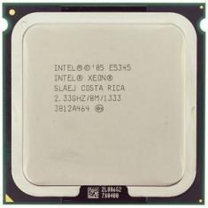 Procesor intel quad core xeon E5345 2.33Ghz 8MB lga 775 = Q8300 cu adaptor 775