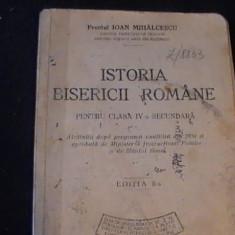 ISTORIA BISERICII ROMANE-PREOT IOAN MIHALCESCU-