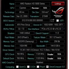 PLACA VIDEO AMD RADEON 5850 DAU GARANTIE PE VIATA COOLER arctic twin turbo - Placa video PC ATI Technologies