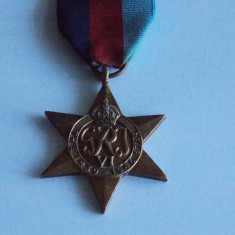 Medalie 1939-1945 star -757, Europa