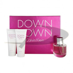 Set Calvin Klein Downtown, Apă de parfum, pentru Femei - Parfum femeie