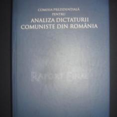 VLADIMIR TISMANEANU - RAPORT FINAL, ANALIZA DICTATURII COMUNISTE DIN ROMANIA - Istorie, Humanitas