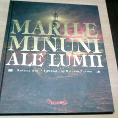 MARILE MINUNI ALE LUMII-RUSSELL ASH-RICHARD BONSON - Atlas, Litera